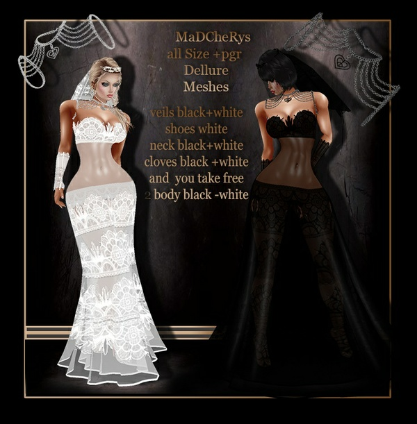 MaD wedd 02 black-white bundle
