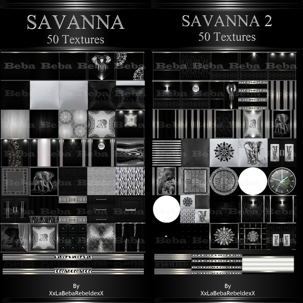 SAVANNA PACKS 1 & 2