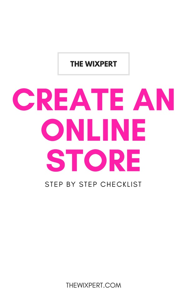 Create An Online Store - Step By Step Checklist