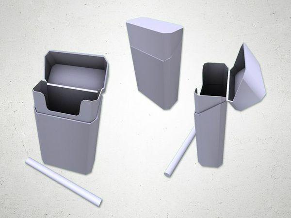 Cigarette Box - 3D Model