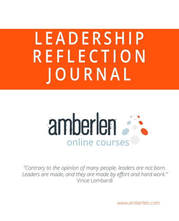 Amberlen Leadership Reflection Journal