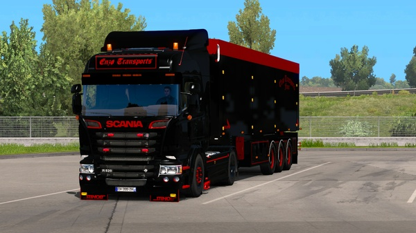 Scania Highline Enzo Transports
