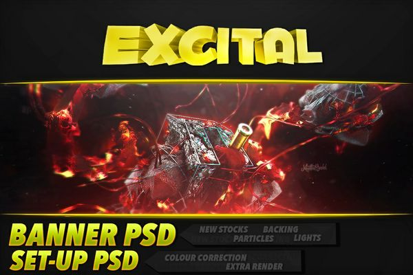 PACK PSD (Banner and set-up) READ PRODUCT DESCRIPTION
