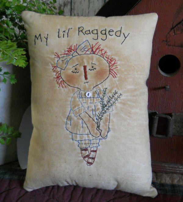 #403 my lil raggedy e pattern