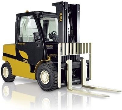 Yale Forklift F813 (Europe): GLP/GDP 40VX5, 40VX6, 45SVX5, 45VX6, 50VX, 55VX Workshop Manual