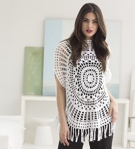 Crochet Circle Top