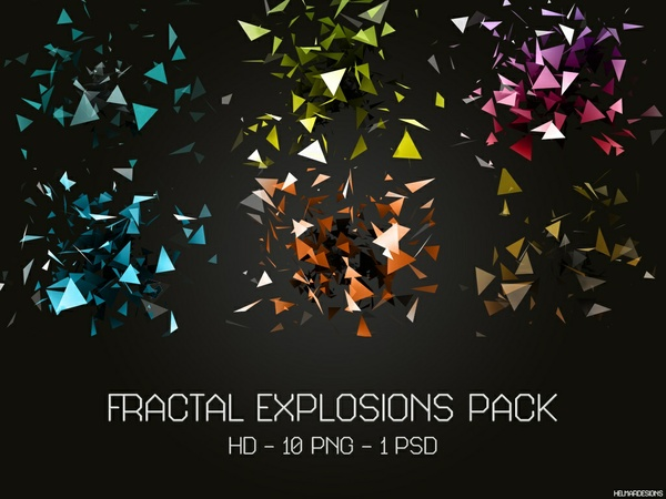 Fractal Explosions Pack HD