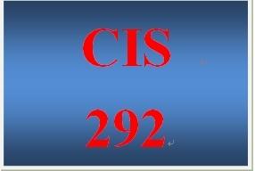 CIS 292 Entire Course