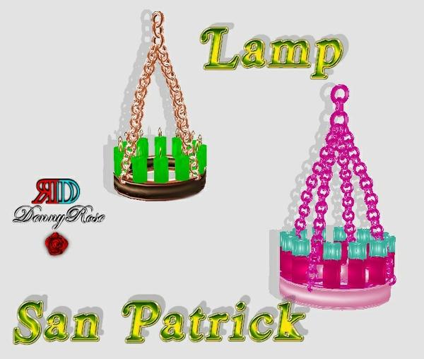 LAMP SAN PATRICK MESH