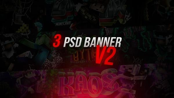 3 PSD BANNER/ V2