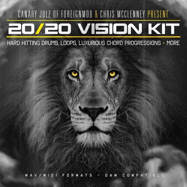 Canary Julz - The 2020 Vision Vol.1 Sound Kit