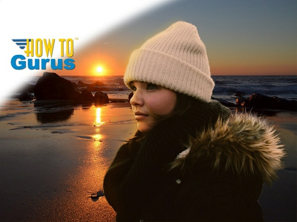 How to use a Layer Mask to Change the Background in Photoshop Elements 14 13 12 11 Tutorial