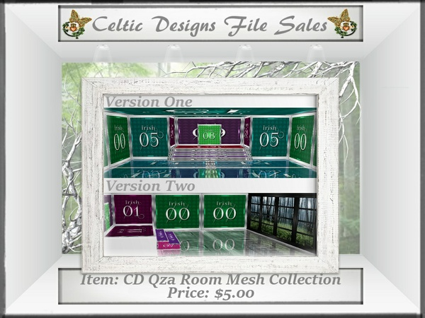 CD Qza Room Mesh Collection