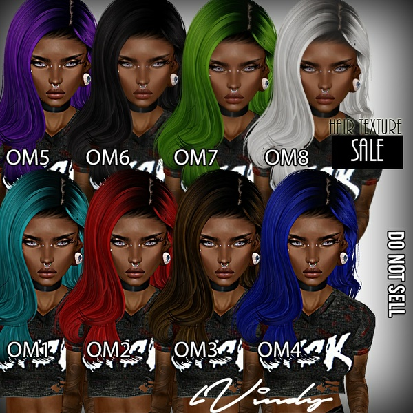 lVindy 8 Hair Textures
