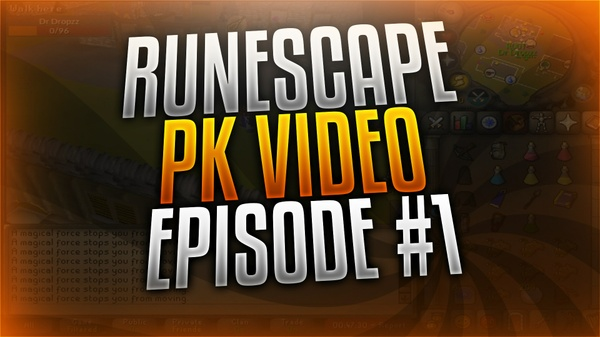 Old School Runescape PKing Thumbnail Template
