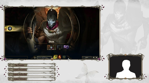 JHIN THE VIRTUOSE  - CLIENT OVERLAY