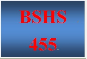 BSHS 455 Week 3 Special Population PowerPoint®