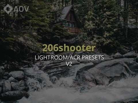 AOV x 206shooter v2 Lightroom Presets
