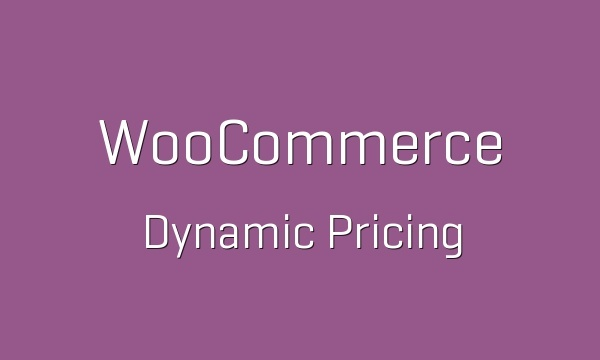 WooCommerce Dynamic Pricing 3.1.4 Extension