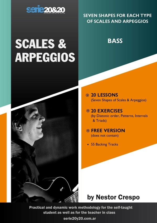 BASS /  Donation - Scales & Arpeggios