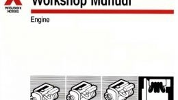 Mitsubishi Engines 1990-2002 Repair Manuals