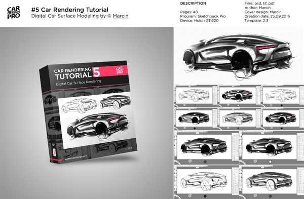 Tutorial 1 Concept Car Rendering Car Design Pro
