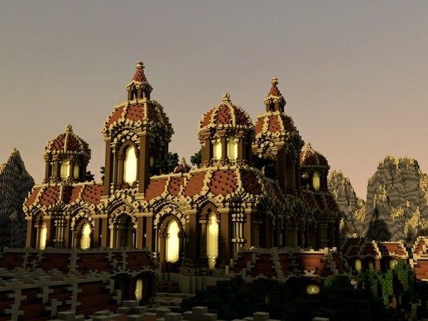Minecraft Baroque Faction Spawn