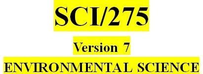 SCI 275 Week 3 Balancing Ecosystems