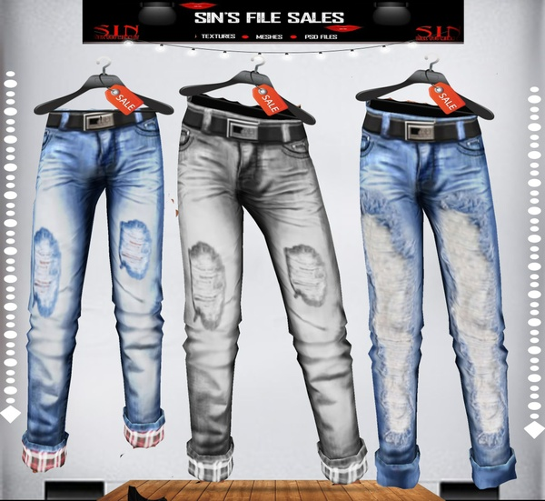 ❄Mens Ripper Jeans Bundle❄