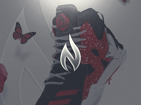 """Cherry Rose"" Adidas 