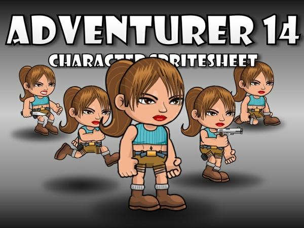 Adventurer Character 14