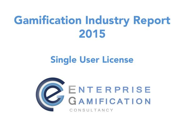 Gamification Industry Report 2015 (Single User License)
