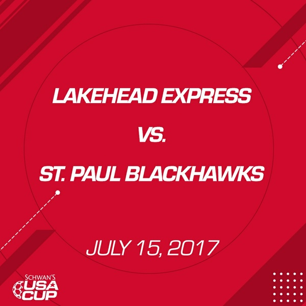 Girls U13 - July 15, 2017 - Lakehead Express V. St. Paul Blackhawks