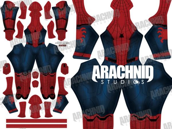 **UPDATED** Civil War Spider-Man Dye-sub Pattern