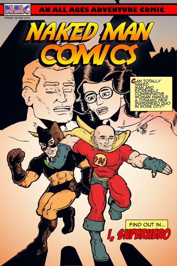 Naked Man Comics #8