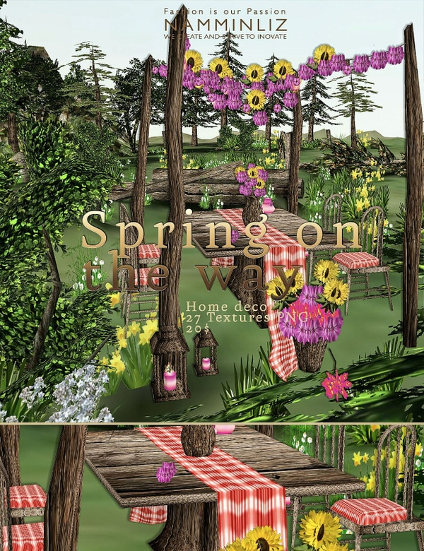 Spring on the way imvu home decor 27 Textures PNG