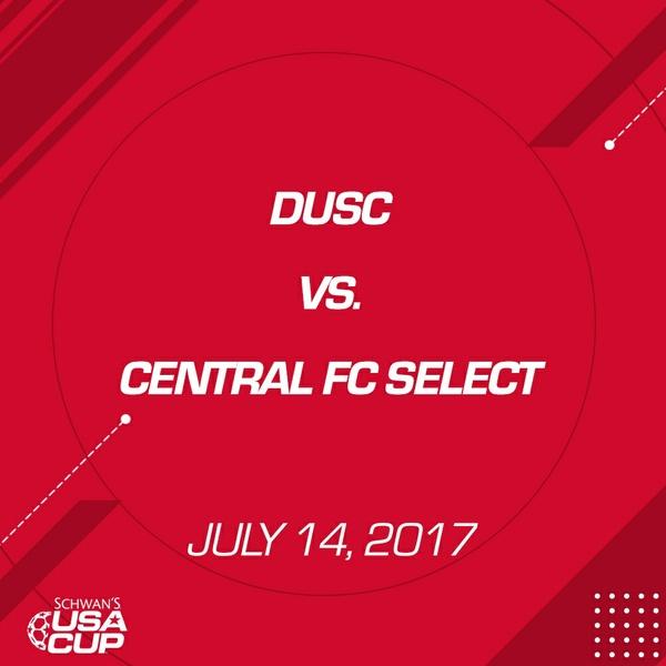 Girls U19 - July 14, 2017 - DUSC vs Central FC Select