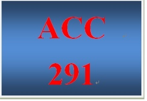 ACC 291 Week 1 Tangible versus Intangible Assets - For Discussion