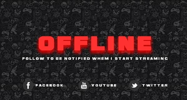 Twitch.tv Offline Banner