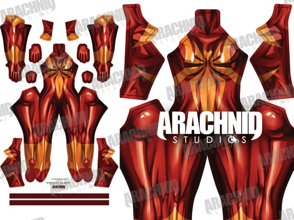 MJ Iron Spider Dye-sub pattern