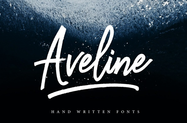 Aveline Script Free version