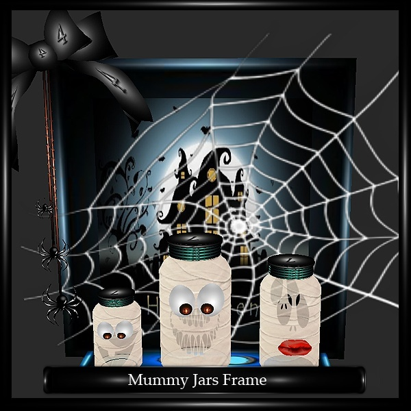 MUMMY JARS FRAME