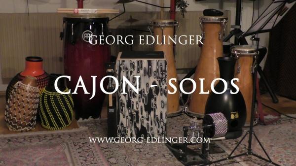 11 Cajon Solos - Solo 7 - Rock Funk