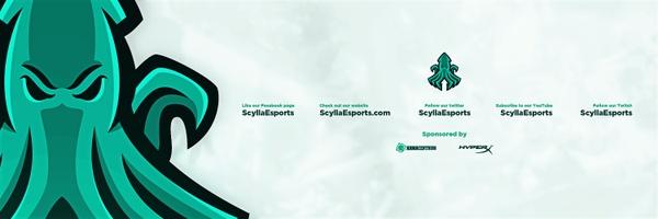 Scylla Esports Header PSD