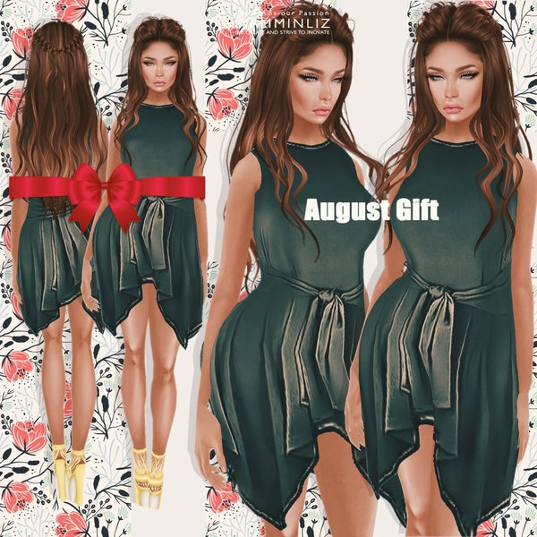 Happy August ♥ Free Gift
