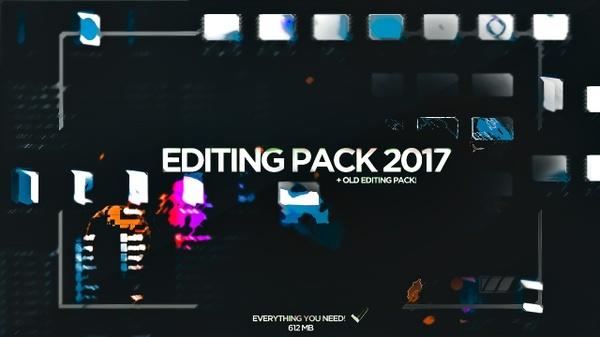 EDITING PACK 2017!