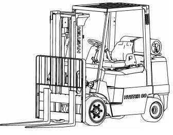 Hyster Diesel/LPG Forklift Truck E004 Series: S3.50XM, S4.00XM, S4.50XM, S5.50XM Service Manual
