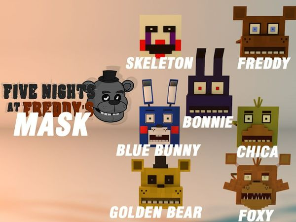 Five Nights at Freddy's Mask | Free