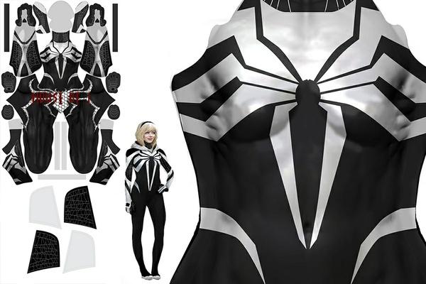 """""""Symbiote Spider-Gwen"""" Pattern"""