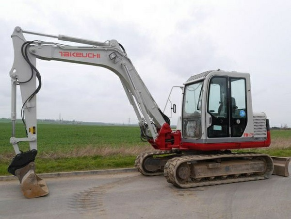Takeuchi TB175 Compact Excavator Service Repair Workshop Manual Download(S/N:17530001 & Above)